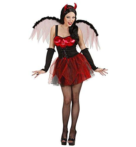 Sexy Teufelinnen-Kostüm Halloween rot (Erwachsene Halloween Für Kostüme Sexy)