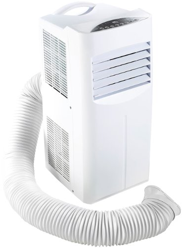 Sichler Haushaltsgeräte - Condizionatore mobile monoblocco, 7000 BTU/h, 880 W con elemento riscaldatore