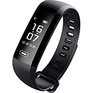 Fitness Tracker Bracelet Watch Pedometer Charging usb| Detection Blood Pressure, Calorie Counter, Physical Activity, Sleep. USB Charging Connection to iOS/Android via Bluetooth
