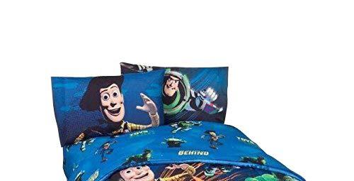 """Disney's Toy Story - Ensemble de literie Ne jouez pas avec nous Ensemble de draps simples pour enfants 66 """"X 96"""""""