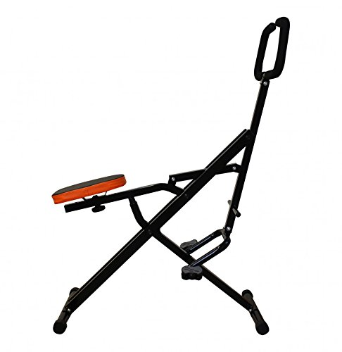 Triway Crunch Pro Total Body Trainer | Aktionspreis! | Bauch- & Rückentrainer | Ganzkörperfitnessgerät | Trainingsgerät zum Trainieren von Bauch- und Gesäßmuskeln, Beinen und Armen - zusammenklappbar