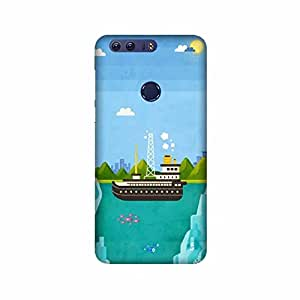 Printrose Huawei Honor 8 Designer Printed Back Cover Hard Plastic case and Covers for Huawei Honor 8