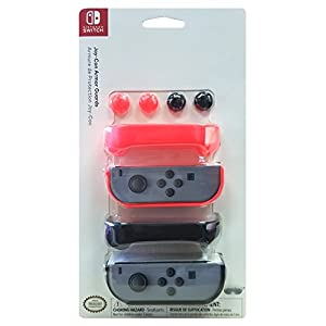 NS Joy-Con Armor Guards (Doppelpack) (ROT) (EU) [ ]