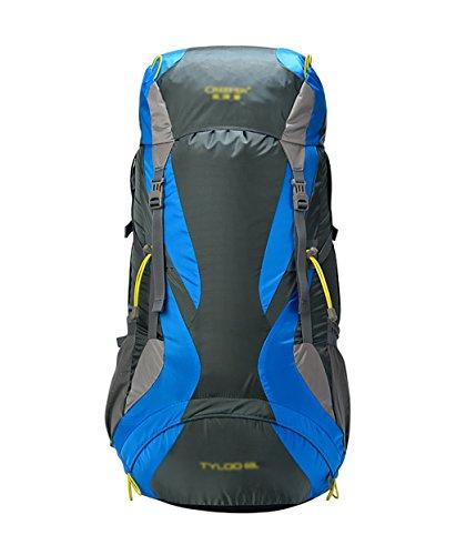 zaino trekking Maschio / Femmina 60L Outdoor Alpinismo Bag galleggiante spalla traspirante zaino impermeabile Zaini da escursionismo ( Colore : D , dimensioni : 60L-35*26*75CM ) C