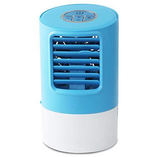 YGTMV Mini Luftkühler, Air Cooler Klimagerät,7 Farben Klimagerät Mobil,3 in 1 Ventilator Luftreiniger,USB Leistungsstufen Tragbare Camping,Für Reisen Büro und Zuhause Schnelles Kühles Freien -
