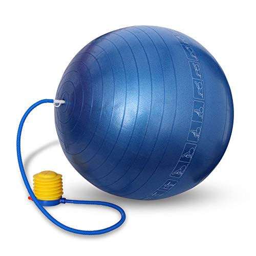 Nivia Anti Burst Gym Ball, 75cm