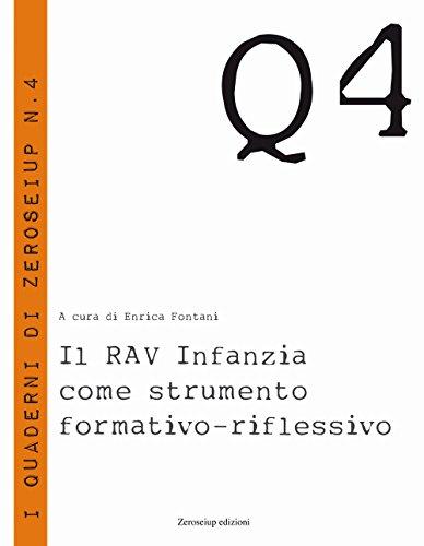 Il RAV Infanzia come strumento formativo-riflessivo (Quaderni)