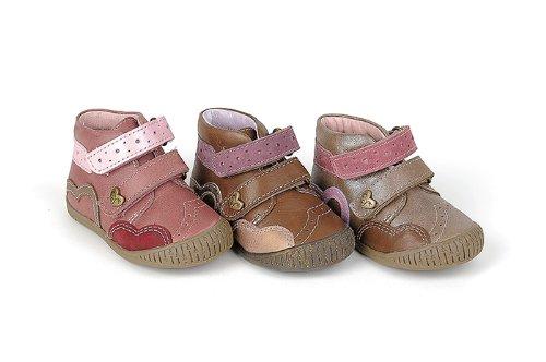 Babybotte, Sneaker bambine, Rosa (mauve/pink), 7 UK