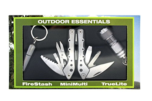 True Utility Outil Outdoor Essentials 10702000 Coffret Cadeau
