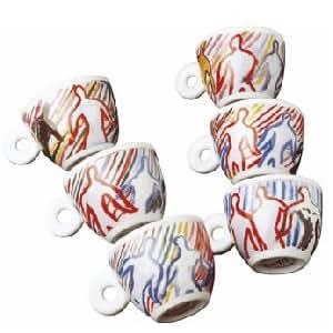 Illy tasses à expresso 1997 sandro collection chia (il ballo del café - 6 set complet
