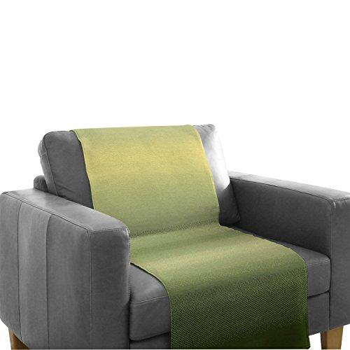 Biederlack Sofaläufer Baumwollmischung grün Größe 100x200 cm