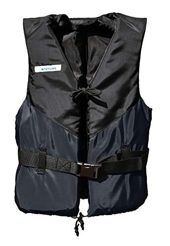 Navyline 50N Schwimmweste Damen Herren, Farbe:Navyblau, Größe:70-90kg