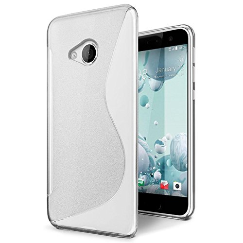 Conie HTC U Play Hülle, [S Line Series] Soft Flex TPU Case Ultradünn Echtes Telefongefühl handyhüllen PC Bumper Cover Schutz Tasche Schale Schutzhülle, HTC U Play (5,2 Zoll (13,2 cm)