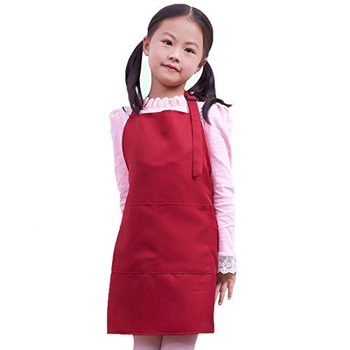 LissomPlume Delantal niños 5-7 años edad estilo