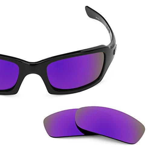 Verres de rechange pour Oakley Fives 3.0 — Plusieurs options violet MirrorShield® - Polarisés