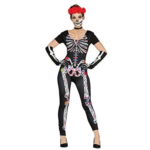 Imagen de disfraz de esqueleto méxicano