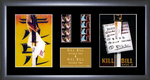 Kill Bill - Duett Film Cell Ein Film Cell