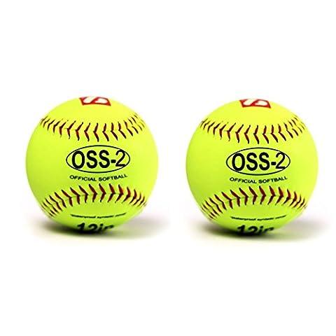 OSS-2 Softball Ball Anfänger, 12'', 2