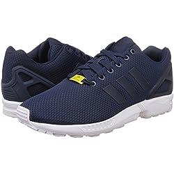 Adidas Zx Flux, Scarpe da Corsa Unisex Adulto, Blu (New Navy/New Navy/Running White), 44