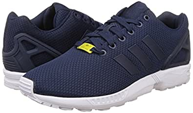 adidas Originals Men's Zx Flux Blue and White Running Shoes - 10 UK