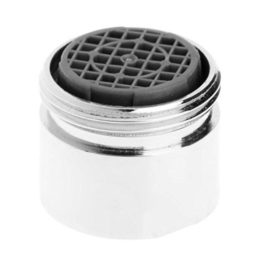 18 mm Wasserhahn-Strahlregler Edelstahl Wasserhahn Blasenbläser Wassersparer Filter Spritzwassergeschützt für Küche Badezimmer Waschbecken