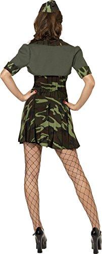Imagen de smiffy's  disfraz de militar para mujer, talla m 33078m  alternativa