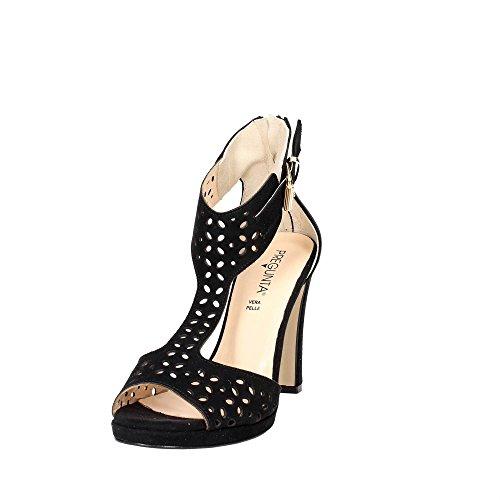 Pregunta 79541 Sandal Damen Schwarz