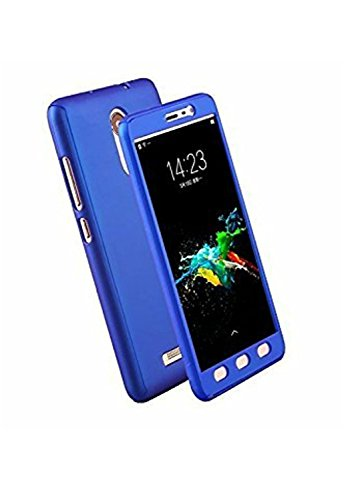 SAM ON7 IPK BLUE Dreams Mobile 360 Degree Full Body Protection Front & Back Case Cover (iPaky Style) with Tempered Glass for Samsung Galaxy On 7 / On 7 Pro -Blue