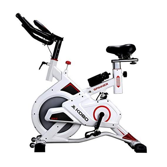 Kobo Exercise Spin Bike with Steel Wheel (Imported)
