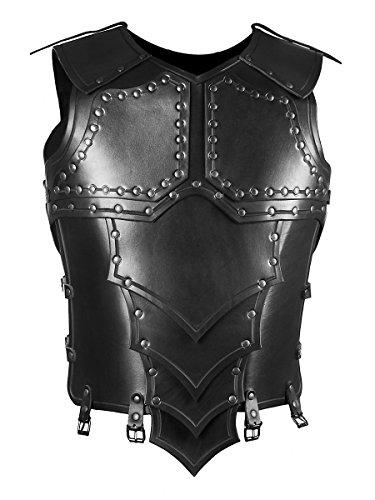 Andracor- Handgefertigte Drachenreiter-Rüstung / Torso aus echtem Leder für Krieger, Söldner und Drachenreiter - LARP Mittelalter, Fantasy & Cosplay - - Fantasy Kostüm Rüstung