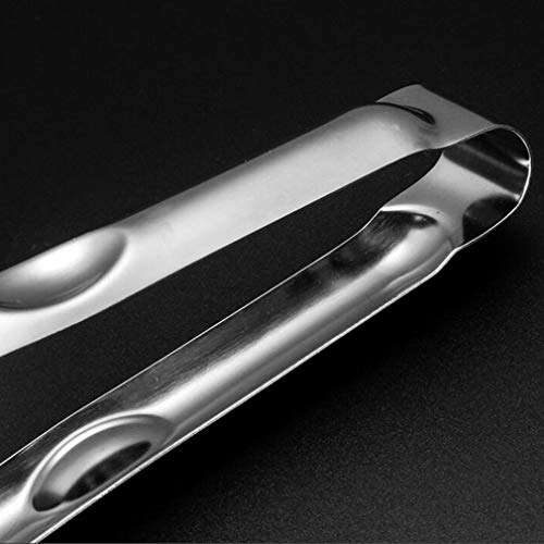 Yeucan Shovel Clip Stainless Steel Non Slip Mesh Trough Steak Clip Fried Fish Food Clip Kitchen Function Barbecue Clip Hand Cake Pizza Shovel