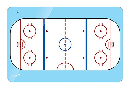 Legamaster Accents, Ice Hockey 30 x 40 cm - Accesorio Pizarra (Ice Hockey 30 x 40 cm, Azul, Rojo, Color Blanco)