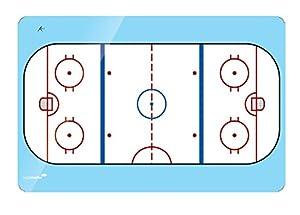 Legamaster Accents, Ice Hockey 30 x 40 cm - Accesorio Pizarra (Ice Hockey 30 x 40 cm, Azul, Rojo, Color Blanco)