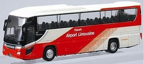 Faithfull bus No.04 Airport Transport 1/80 scale die-cast model (japan import)