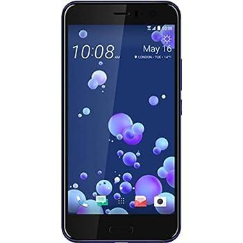 HTC U11 Smartphone portable débloqué 4G (Ecran: 5,5 pouces - 64 Go - Nano-SIM - Android) Bleu saphir