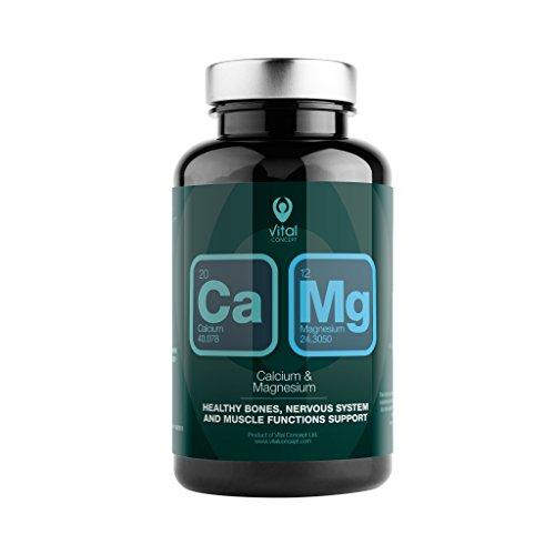 CALCIUM & MAGNESIUM - Mejor absorción de calcio, gracias al mag
