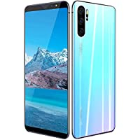 Bewinner SIM-Free Smartphones Unlocked 6.1 Inch 1+16G Octa-Core Dual Card Dual Standby HD Screen Mobile Phone Gradient White, 8MP Front Camera+16MP Rear Camera(UK)