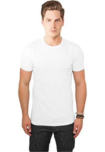 Urban Classics TB814 Fitted Stretch Tee Regular Fit T-shirt Man Size XXL White -
