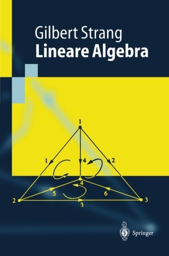 Lineare Algebra (Springer-Lehrbuch) (German Edition) by Gilbert Strang (2013-10-04)