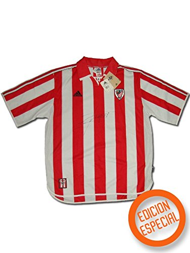 Adidas - Athletic Bilbao 1ª Camiseta EDU Alonso 23 99/00 Hombre Color: Rojo Talla: XL