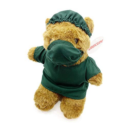 UNICUM Medizinbär   Geschenk für Mediziner Arzt Krankenschwester Student und Studentin   Uni Abschluss Prüfung   Teddybär
