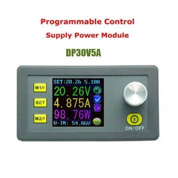 DP30V5A Buck Voltage Converter LCD Display Voltmeter Constant Voltage Current Step-down Programmable Power Supply -