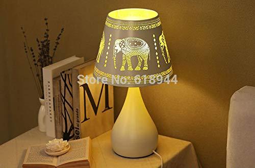 longmen Ventas Nordic lampara de Escritorio sudeste asiático Elefantes lámpara de Noche...