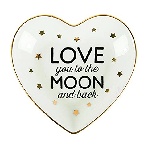 Sass and Belle Ceramic Love you to the Moon and