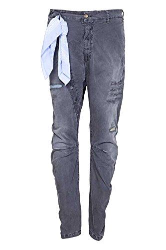 Berna Pantaloni Chino PRAVDA, uomo, Colore: Grigio Scuro, Taglia: 48