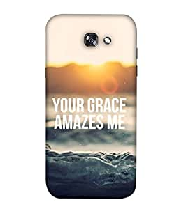 Digiarts Designer Back Case Cover for Samsung Galaxy A3 (2017), A320FL, A320F, A320F/DS, A320Y/DS, A320Y, Samsung Galaxy A3 (2017) Duos (Saying Quotation Teaching Learn)