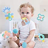 O&B High Quality Baby Toys Rattle Teething Toys 8 PCS, Baby Newborn Gift