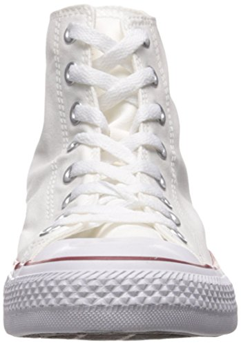 Converse Ctas Core Hi, Baskets mode mixte adulte Blanc (Blanc Optical)