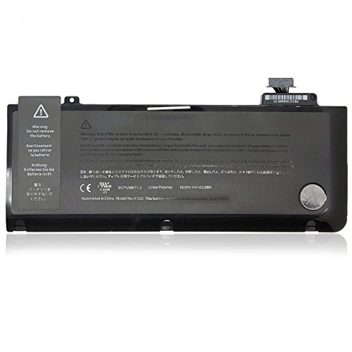JQSPower Li-ion A1322 10.95V 63.5Wh Polymer Akku, Für Apple MacBook Pro 13.3