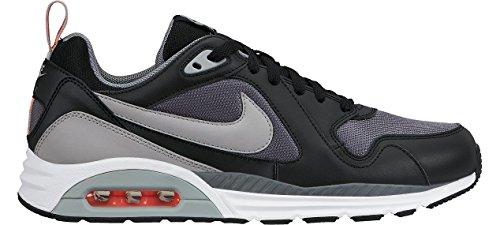 Nike , Herren Sneaker grau Grau / Silberfarben / Schwarz / Rojo (Cool Grey / Silver-Black-Ht Lava-)